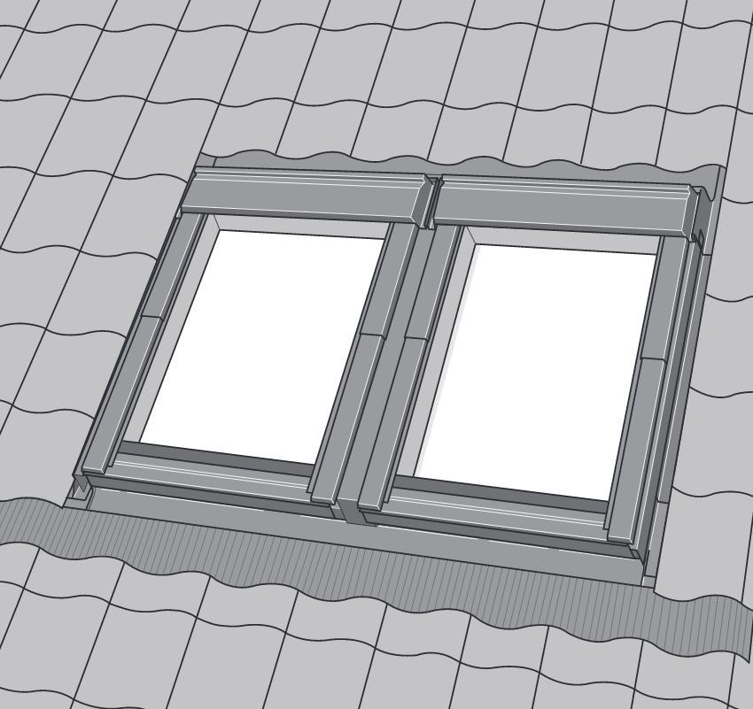 velux ebw 0021 b ziegel dachmax. Black Bedroom Furniture Sets. Home Design Ideas
