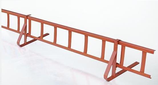 komplettes schneefanggitter 120cm f r dachpfannen dachziegel universal ebay. Black Bedroom Furniture Sets. Home Design Ideas