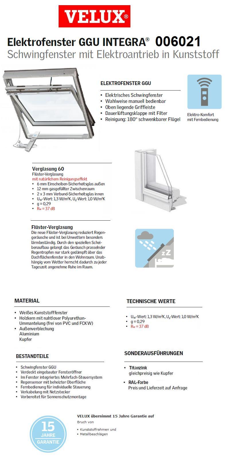 ggu p10 0060 21 94x160 cm integra dachmax. Black Bedroom Furniture Sets. Home Design Ideas