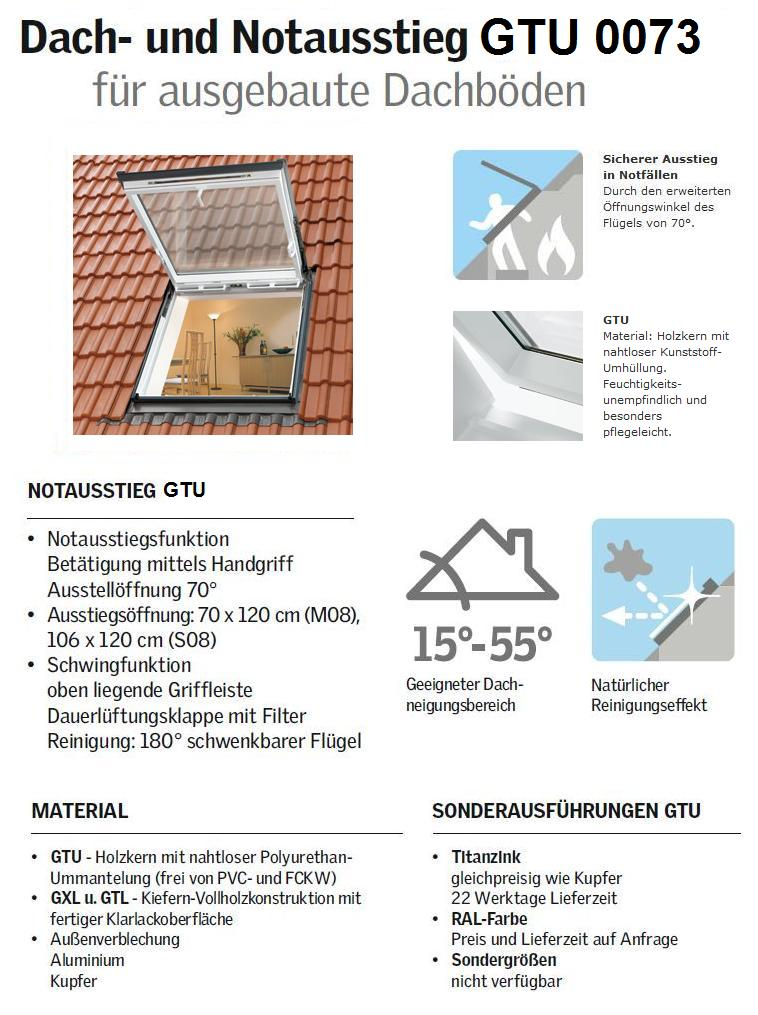wohn und ausstiegsfenster velux gtu s08 0059 114 x140 cm eindeckrahmen ebay. Black Bedroom Furniture Sets. Home Design Ideas