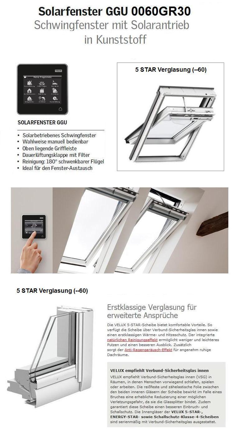 Velux ggu mk04 006030 78x98 solarfenster aus kunststoff 5 - Velux ggu 78x98 ...