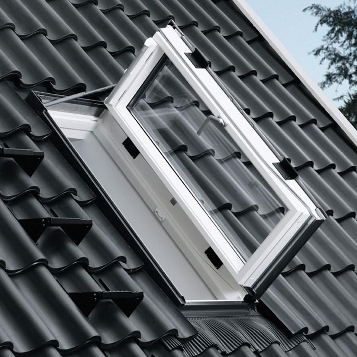 ausstiegsfenster dachluke dachausstieg skylight velux gxu dachfenster kunststoff ebay. Black Bedroom Furniture Sets. Home Design Ideas