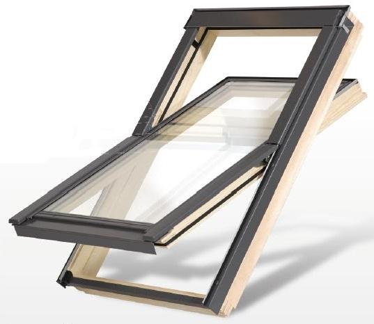 holzdachfenster fenster f rs dach holz eindeckrahmen velux fakro okpol. Black Bedroom Furniture Sets. Home Design Ideas