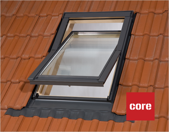 dachfenster rooflite 66x118 cm eindeckrahmen rollo geschenk velux konzern ebay. Black Bedroom Furniture Sets. Home Design Ideas
