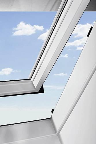 rooflite pvc dachfenster mit eindeckrahmen velux konzern kunststofffenster ebay. Black Bedroom Furniture Sets. Home Design Ideas