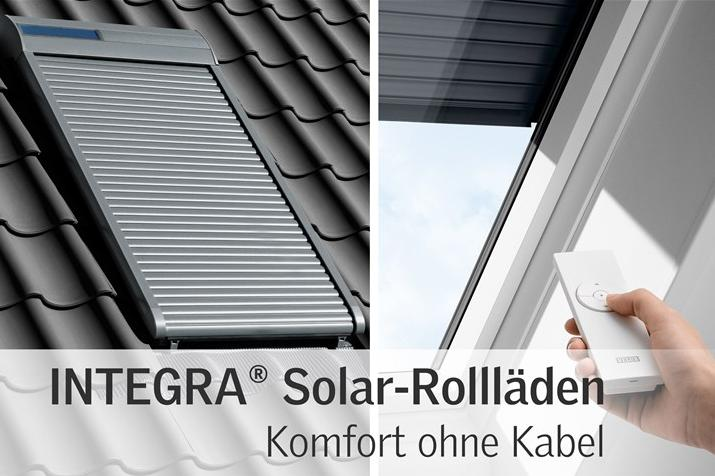 velux integra solar rollladen ssl mit ohne montage ebay. Black Bedroom Furniture Sets. Home Design Ideas