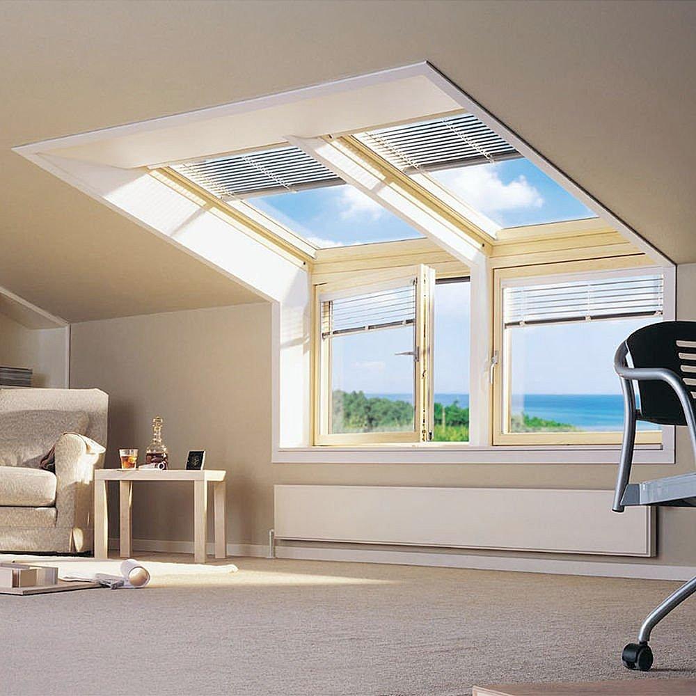 """Мансардные окна: светло, красиво, экономно """" универдом."""