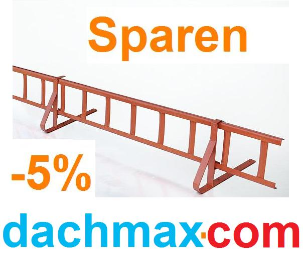 ivt komplettes schneefanggitter 120cm f r dachpfannen dachziegel universal ebay. Black Bedroom Furniture Sets. Home Design Ideas