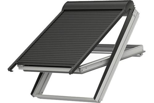 velux rollladen manuell easy shl 0000 volet roulant manuel. Black Bedroom Furniture Sets. Home Design Ideas