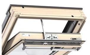 velux integra ggl elektrofenster 306021 ck02 55x78 ck04. Black Bedroom Furniture Sets. Home Design Ideas
