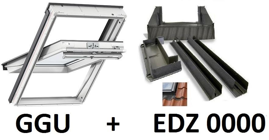 velux dachfenster ggu ck02 0060 55x78cm 5star eindeckrahmen edz roof window ebay. Black Bedroom Furniture Sets. Home Design Ideas