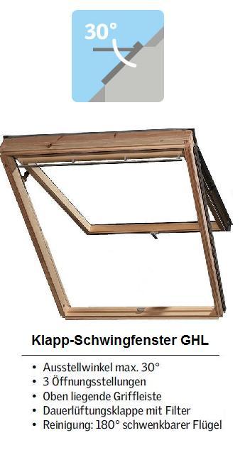 dachfenster velux gpl ghl 3059 eindeckrahmen edz klapp schwing fenster ebay. Black Bedroom Furniture Sets. Home Design Ideas
