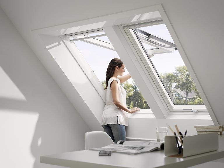 klapp schwingfenster velux gpu 0050 0070 thermo. Black Bedroom Furniture Sets. Home Design Ideas