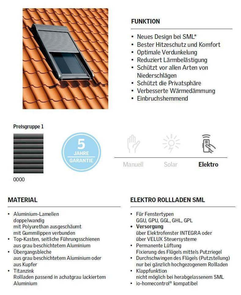 Velux Rollladen Montage Service Sml 0000 Aussenrollladen