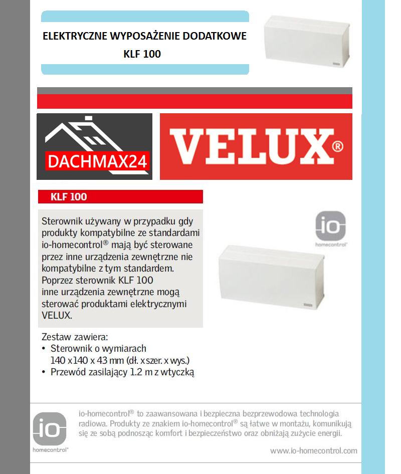 Sterownik Velux - KLF 100