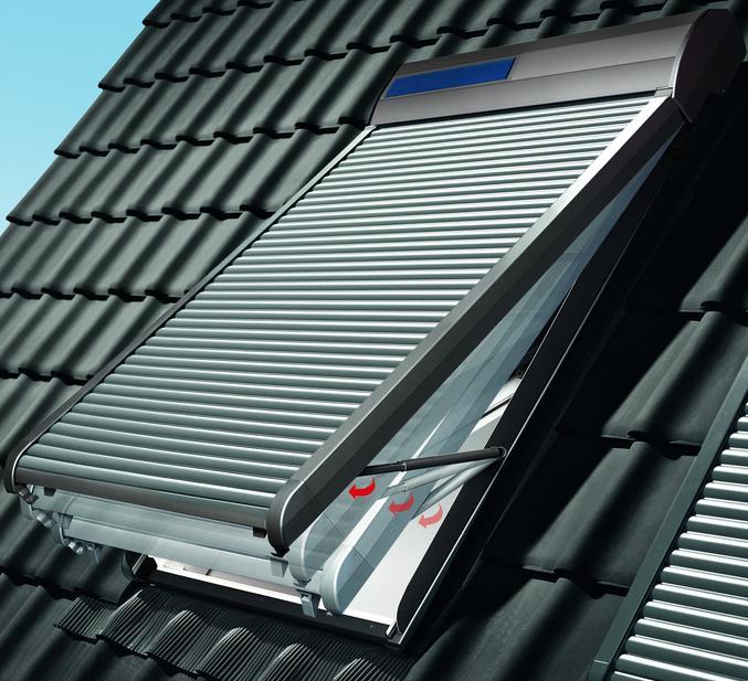 Dachfenster velux mit rolladen  VELUX Rollladen-Ausstellarm ZOZ 217 Original für Aussen Rollladen ...