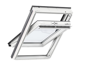 Schwingfenster Velux holz weiss lackiert thermo plus 2060