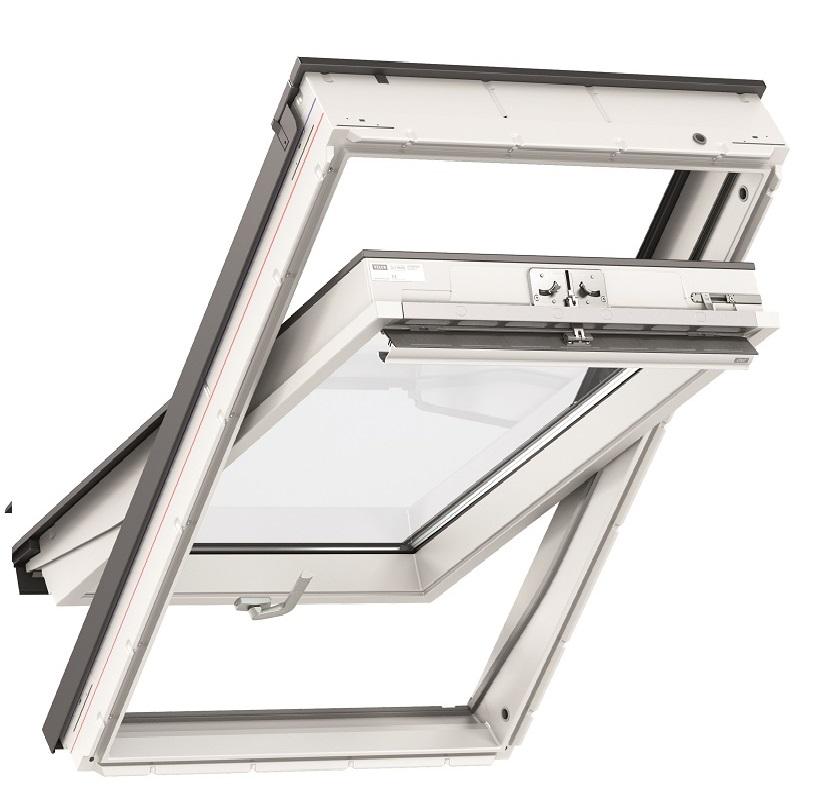 Top original velux dachfenster aus kunststoff ggu 0070 - Dachfenster wasser innen ...