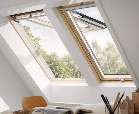 dachfenster klapp schwing fenster velux gpl 3 fach verglasung energie 3066 3068 ebay. Black Bedroom Furniture Sets. Home Design Ideas