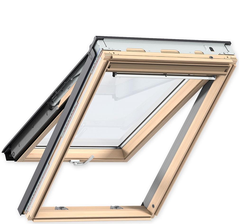 Dachfenster Velux aus Holz Klapp-Schwing-Fenster GPL 3066 0068 Energie