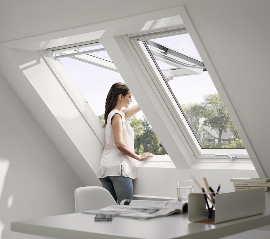 Dachfenster Velux GPU Energie 0066 Klapp-Schwing-Fenster Kunststoff 0068