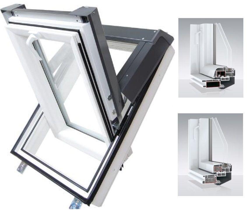 klapp schwingfenster velux gpu thermo hoch schwingfenster. Black Bedroom Furniture Sets. Home Design Ideas